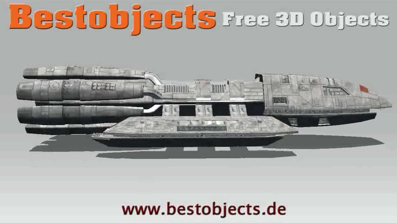 Battlestar Galactica Pegasus Free 3d Objects Youtube