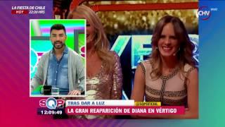 Diana y Cecilia Bolocco aparecen juntas en la TV en el último capítulo de Vértigo - SQP