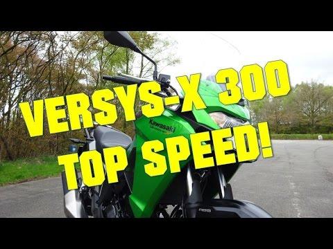Kawasaki Versys-X 300 TOP SPEED!