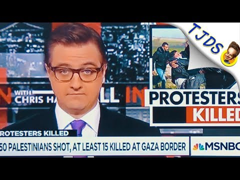Chris Hayes Waits To Be Fired After Gaza Segment