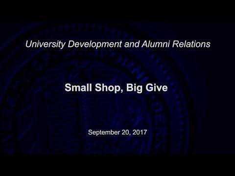 Small Shop, Big Give
