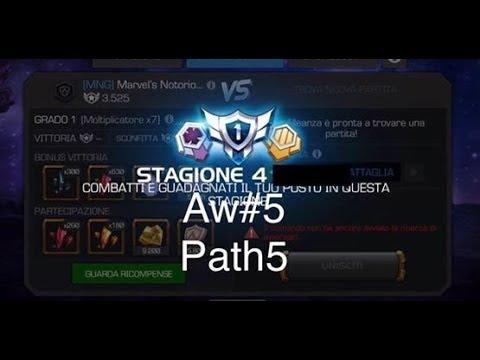 MCOC: aw#5 (MNG) vs (Jokers) | path 5