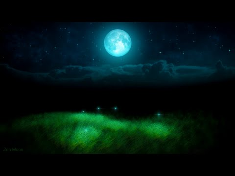 ♫ BEST SILENT NIGHT FIREFLIES SLEEP MUSIC FOR BABIES: Get Baby to Sleep Song, Moon Lullaby for Kids