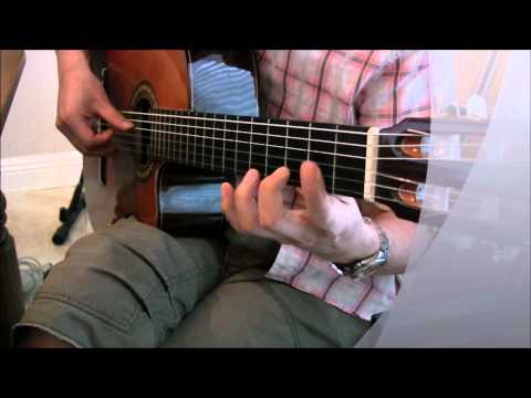 Leaning on the Everlasting Arms - Fingerstyle Guitar Tab
