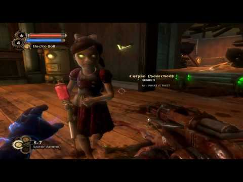 Bioshock 2 Little Sister Animations and Gathering