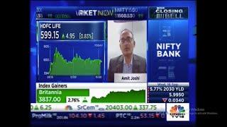 Mr. Amit Joshi on CNBC TV 18 – Closing Bell Show