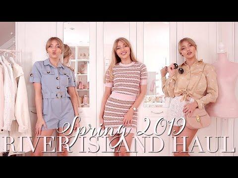 RIVER ISLAND Spring 2019 Try On Haul 🌸 ~ Spring Fashion Edit ~ Freddy My Love