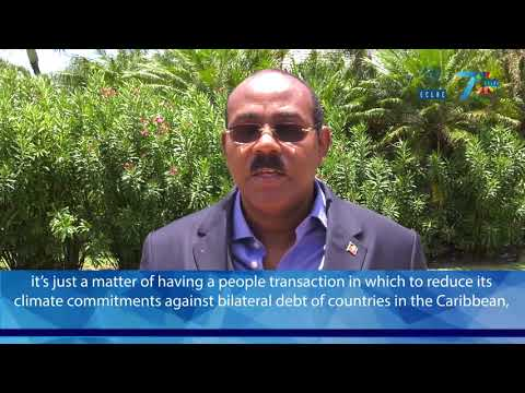 Gaston Browne, Prime Minister of Antigua and Barbuda (CDR 2018 meeting)