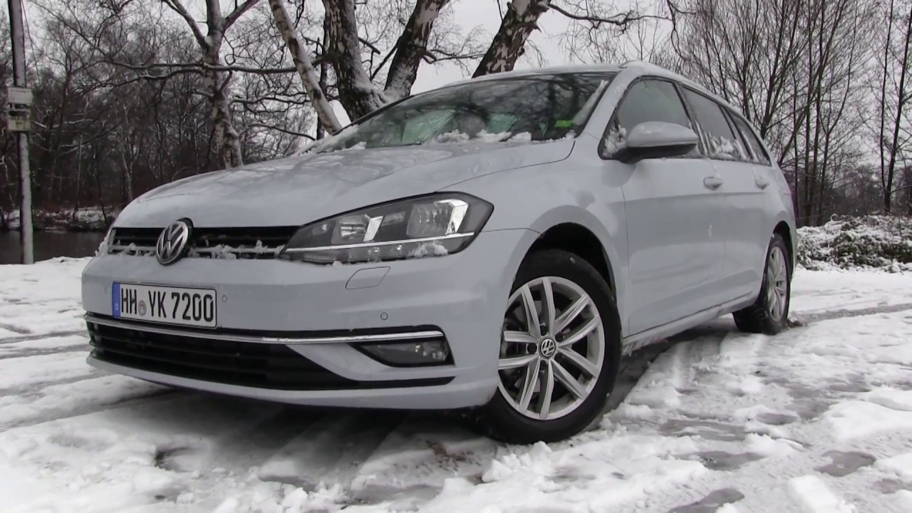 2018 vw golf 7 variant facelift 2 0 tdi 150 hp test drive youtube. Black Bedroom Furniture Sets. Home Design Ideas