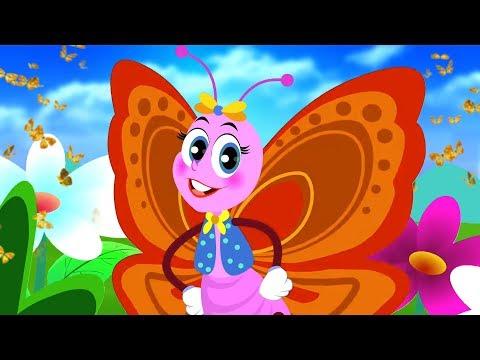 तितली रानी | Titli Rani Badi Sayani | Hindi Bal Geet Kavita | Kids Tv India | Hindi Nursery Rhymes