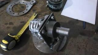 НШ 10 і переходна плита на мінітрактор
