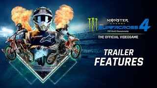 Supercross4 - Trailer Features