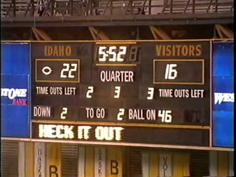 University of Idaho vs. Boise State University (Football), 11/20/1993