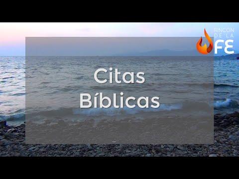 Citas Bíblicas Reflexiones Bíblicas Youtube