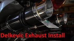 How to: Install Delkevic Exhaust onto VFR800 (02-13)
