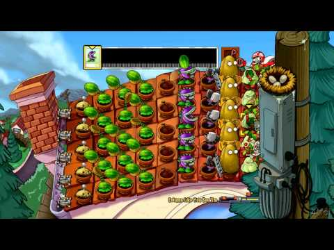 Plants vs Zombies Xbox 360 Column Like You See 'Em Minigame