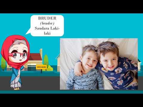 Belajar Bahasa Jerman Mengenal Anggota Keluarga by Pesona Bahasa