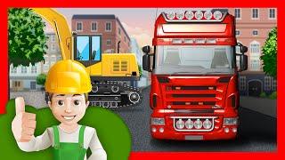 Мультик про грузовик.  Винтик едет на грузовике в город(, 2016-04-12T14:04:40.000Z)