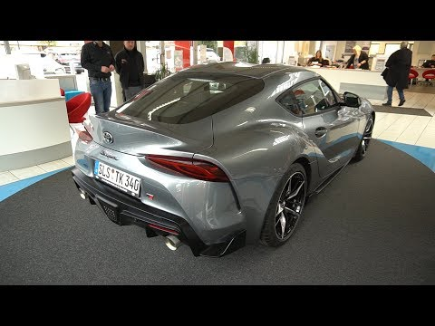 NEW TOYOTA SUPRA 2020 Walkaround, Exhaust, Review, Test, 340 HP