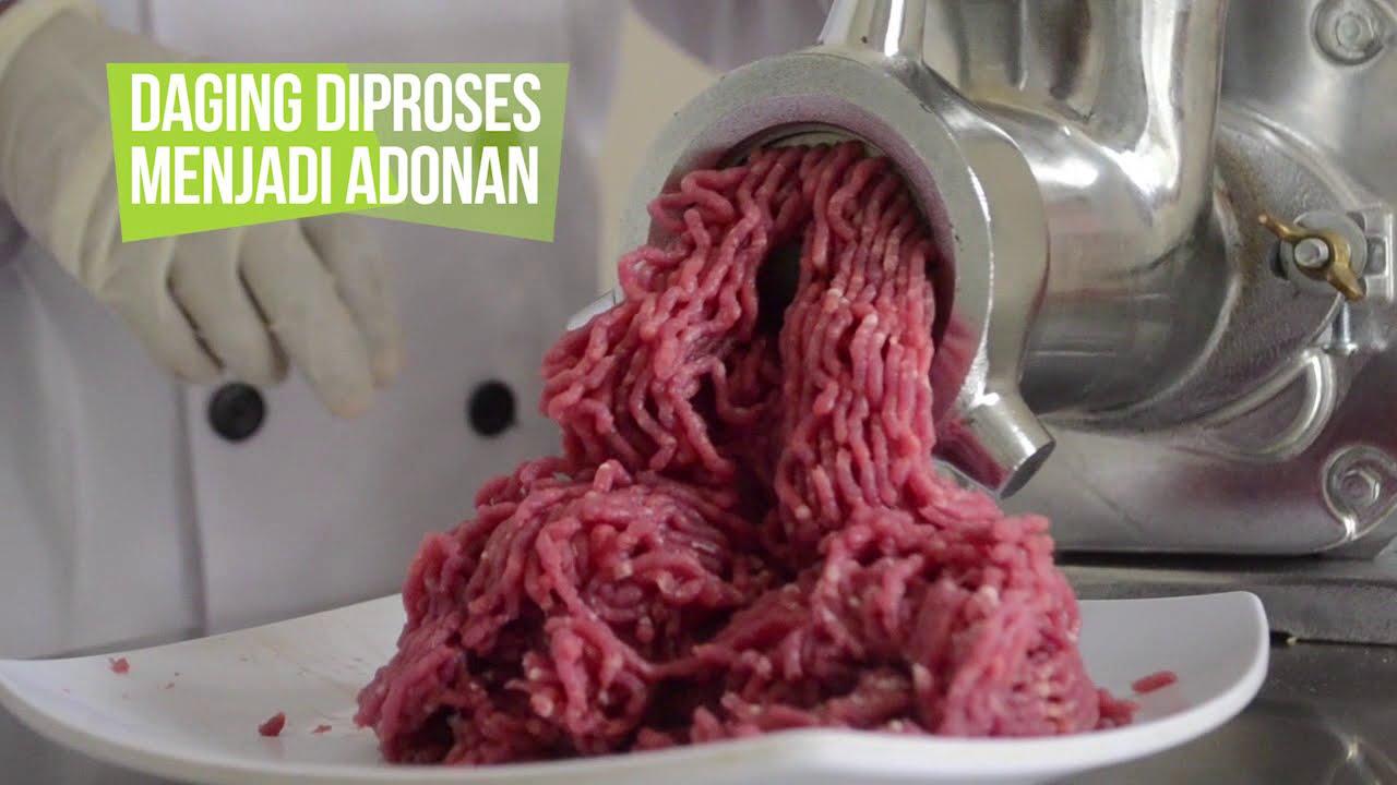 mesin penggiling daging dan pengaduk bakso