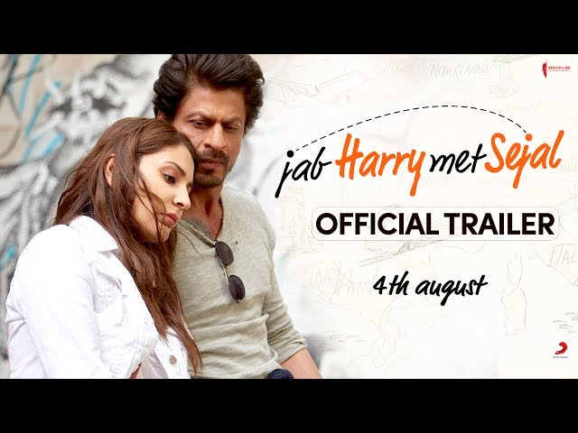 Jab Harry Met Sejal Trailer | Shah Rukh Khan, Anushka Sharma | Releasing August 4, 2017