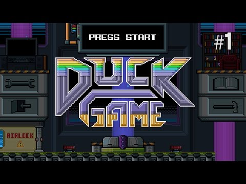 Twitch Livestream | Duck Game Part 1 [PC]