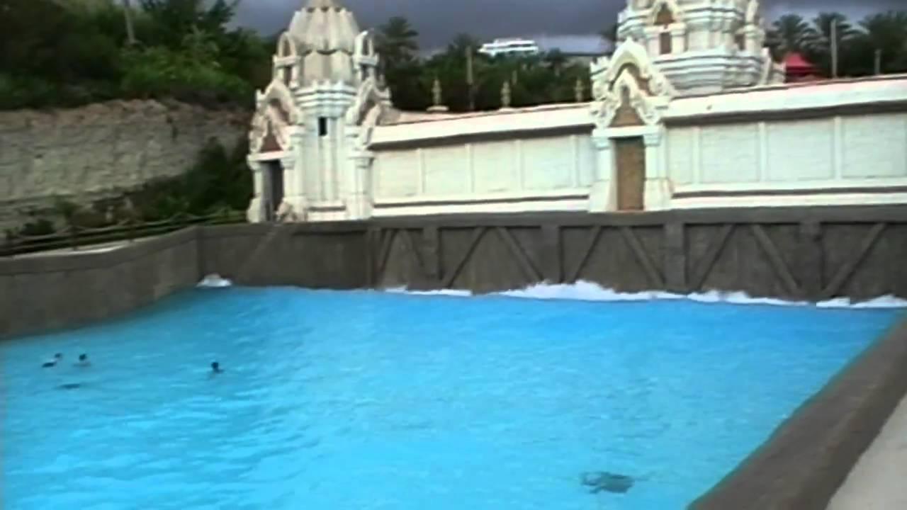 Wave Palace Wave Pool Siam Park Tenerife Youtube
