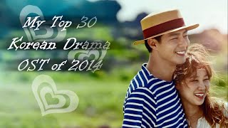 My Top 30 Korean Drama OST of 2014