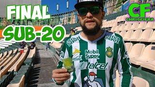 FINAL SUB 20 LEON VS CHIVAS - ChrisFiera DESDE LA TRIBUNA