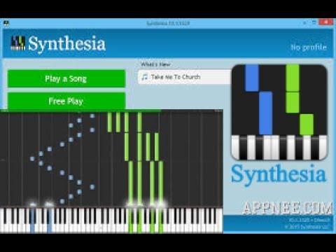 Joué sa propre musique (synthésia)