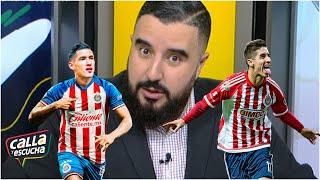 CHIVAS 'Brizuela, en muletas, es mejor que Uriel Antuna': Álvaro. ¿Tiene razón? | Calla y Escucha