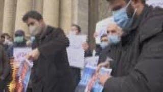 Iran - Anti-US, UN, Israel protest in Iran after scientist's death / Iran promises matching response