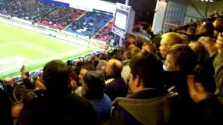 villa fans singing.MOV blackburn vs aston villa...14 01 10, leauge cup semi final