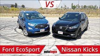 Ford Ecosport vs Nissan Kicks - Frente a Frente - Dos SUVS muy completos