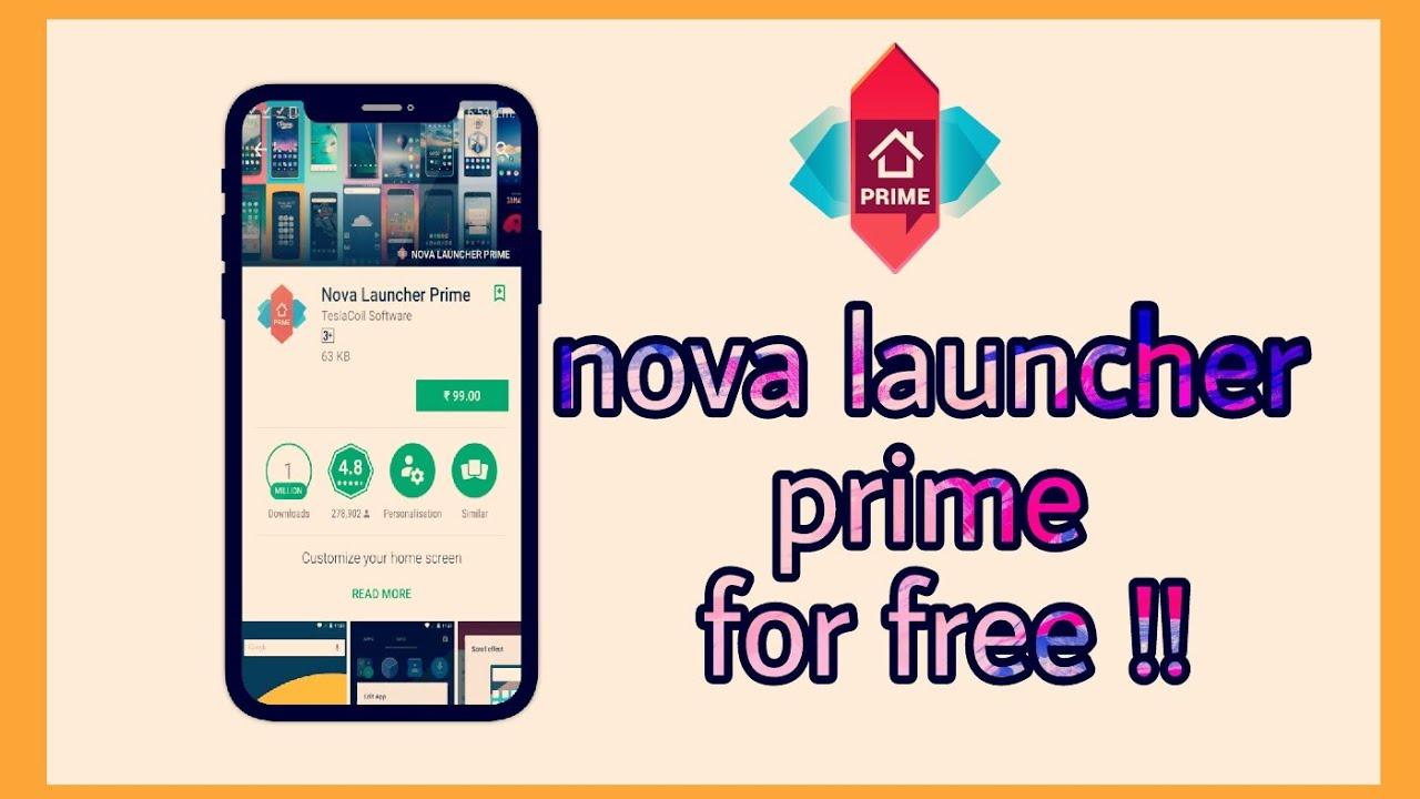 download nova launcher pro for free