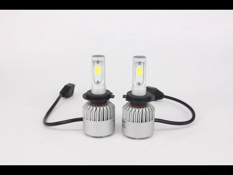 Установка LED ламп на ближний свет Опель Астра G Opel Astra Led