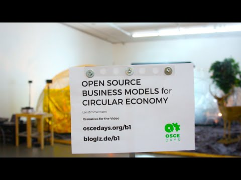 Open Source Business Models for Circular Economy   Video 7/9 – The Network Benefits