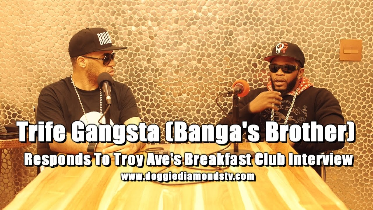 Trife Gangsta (Banga's Brother) Calls Taxstone a Federal Agent and Responds To Troy Ave's Breakfast Club Interview
