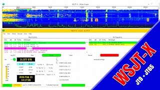 jt9 and jt65 with wsjt x ux5uu