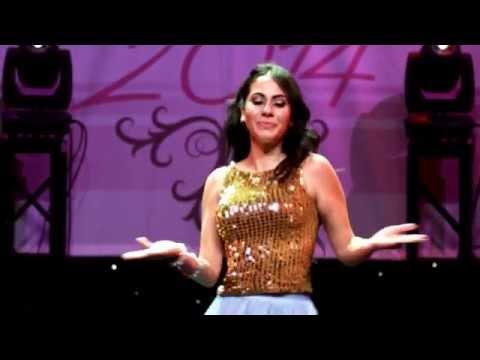Guinwa Zeineddine Talent Segment, Miss Arab USA 2014 Pageant