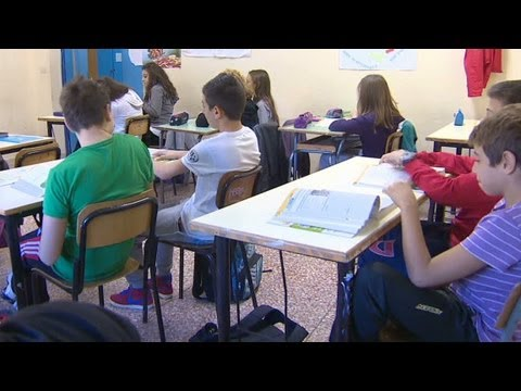 Public schools in Italy are struggling as austerity takes...