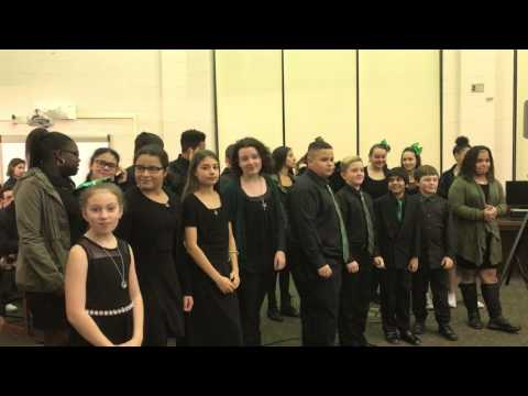 William Paca Middle School Chorus Performs at BOE Meeting - 3/7/17