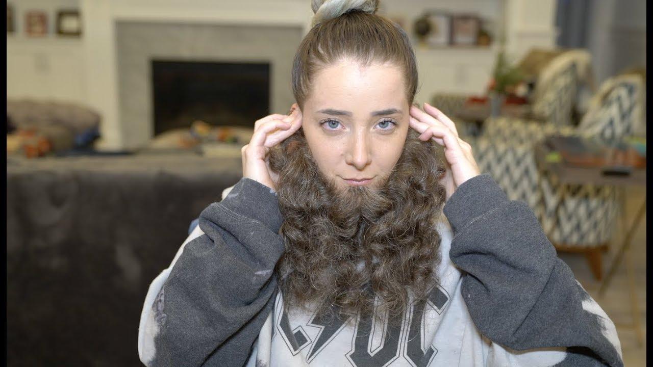 Giving Myself a Beard