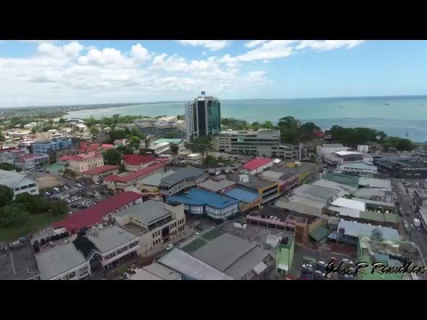 Trinidad and Tobago San Fernando Phantom 4 Aerial View