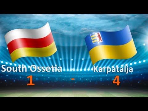 CONIFA Euro 2017 - South Ossetia - Karpatalja