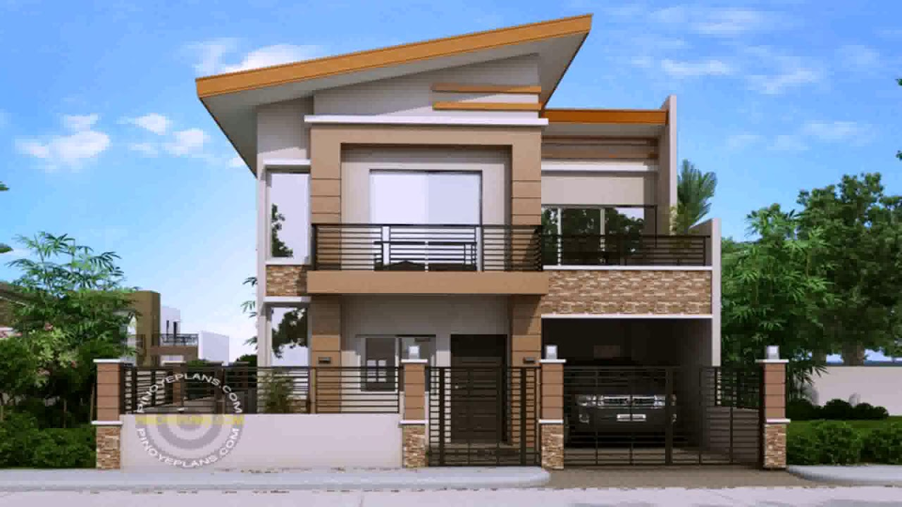 Simple Two Storey House Design With Terrace (see ...
