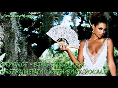 Beyonce - Ring The Alarm (Instrumental With Back Vocals)