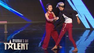 Mr Hi & IG: Auditions | Myanmar's Got Talent 2018