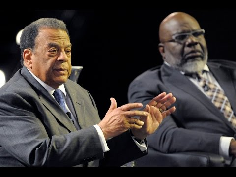 T.D. Jakes, Andrew Young talk about healing the racial divide