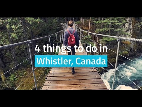 4 Things To Do In Whistler, Canada | STA Travel